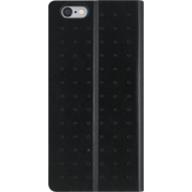 Estuche tipo folio perforado para iPhone 6/6s - Negro
