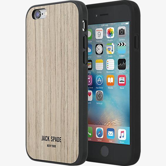 Estuche de madera para iPhone 6/6s - Nogal tipo enchapado de madera