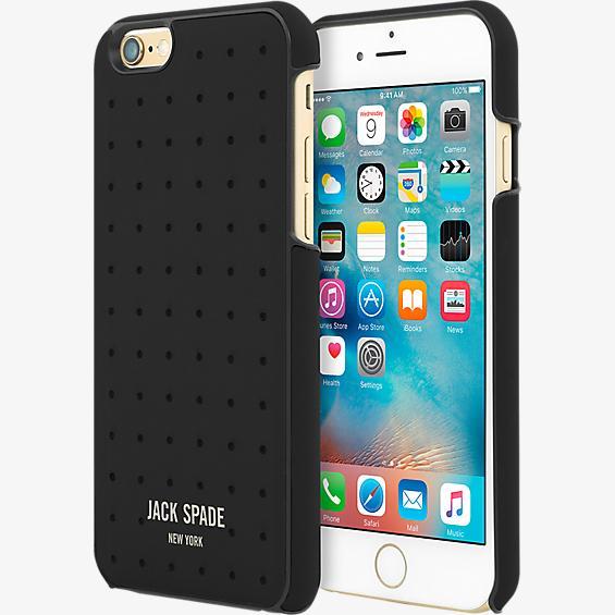 Estuche envolvente para iPhone 6/6s - Negro perforado