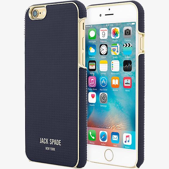 Estuche envolvente para iPhone 6/6s - Varick azul marino
