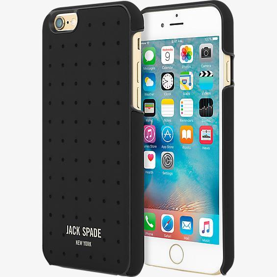 Estuche para iPhone 6 Plus/6s Plus - Negro perforado