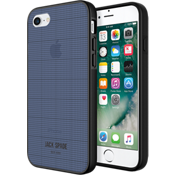 Estuche Clear Graph Check para iPhone 7 - Azul marino