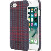 Estuche con cierre a presión para iPhone 7 - Color Holiday Plaid