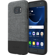 Estuche con bloques de color para Galaxy S7 - Color Tech Oxford Gray/Negro