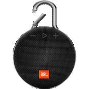 Altavoz Bluetooth portátil resistente al agua JBL Clip 3 - Negro
