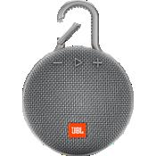 Altavoz Bluetooth portátil resistente al agua JBL Clip 3 - Gris