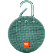 Altavoz Bluetooth portátil resistente al agua JBL Clip 3 - Verde azulado