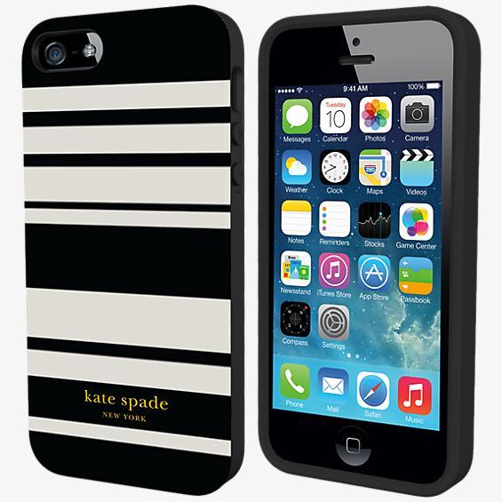 Estuche rígido flexible para iPhone 5/5s - Rayas Fairmont