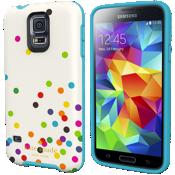 Estuche rígido flexible para Samsung Galaxy S5 - Confeti