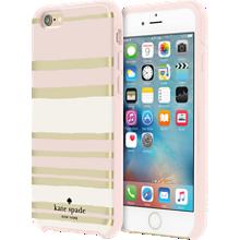 Estuche rígido híbrido para iPhone 6/6s - Rayas capri