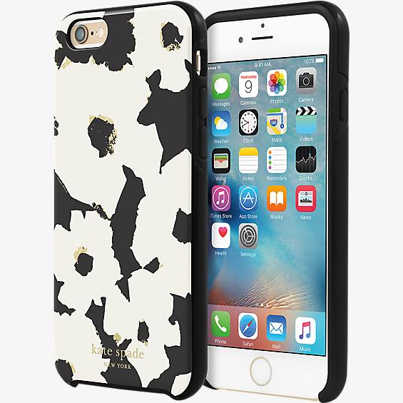 Estuche rígido híbrido para iPhone 6/6s - Floral flotante