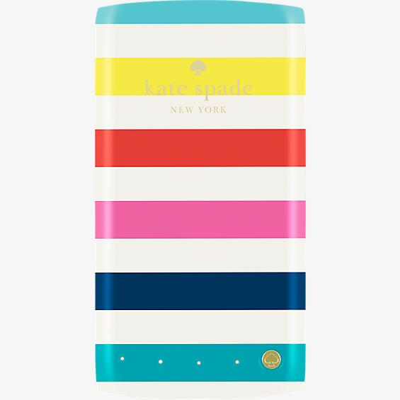Batería portátil de respaldo de 4000 mAh - Rayas de colores