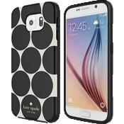 Estuche rígido flexible para Samsung Galaxy S6 - Lunares en relieve