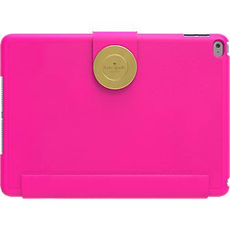 Estuche tipo folio con imán para iPad Air 2 - Rosa Saffiano
