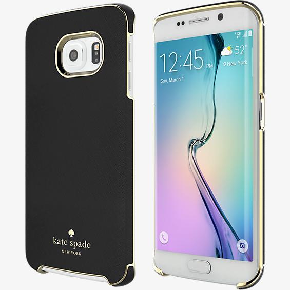 Estuche para Samsung Galaxy S 6 Edge - Negro