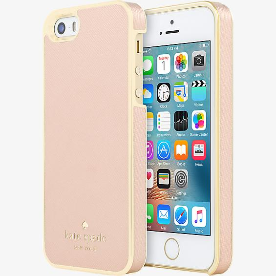 Estuche para iPhone 5/5s/SE - Color Saffiano Rose Gold