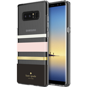 Estuche rígido flexible para Galaxy Note8 - Color Charlotte Stripe Black