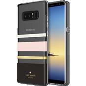Estuche rígido flexible para Galaxy Note8 - Color Charlotte Stripe Black