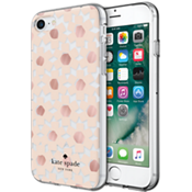 Estuche rígido flexible para iPhone 7 - Transparente floral