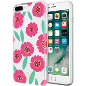 Estuche rígido flexible para iPhone 7 Plus - Rosa floral