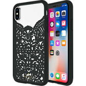 Estuche Lace Cage para iPhone X - Color Lace Hummingbird Black/Transparente