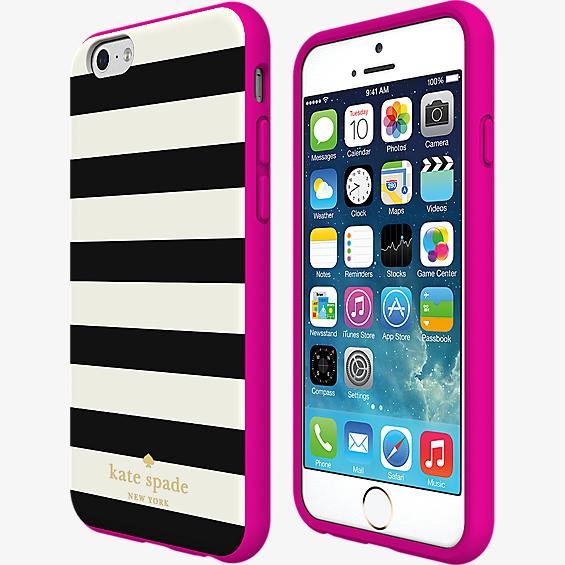 Estuche rígido flexible para iPhone 6/6s - Rayas de colores