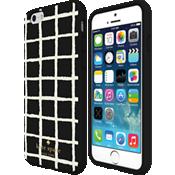 Estuche rígido flexible para iPhone 6/6s - A cuadros