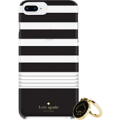 Juego de regalo: anillo y carcasa protectora dura para el iPhone 8 Plus/7 Plus/6s Plus/6 Plus - Rayas 2