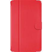 Estuche tipo folio para LG G Pad X8.3 - Rojo
