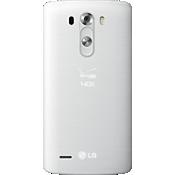 Cubierta de batería estándar para LG G3 - Blanco