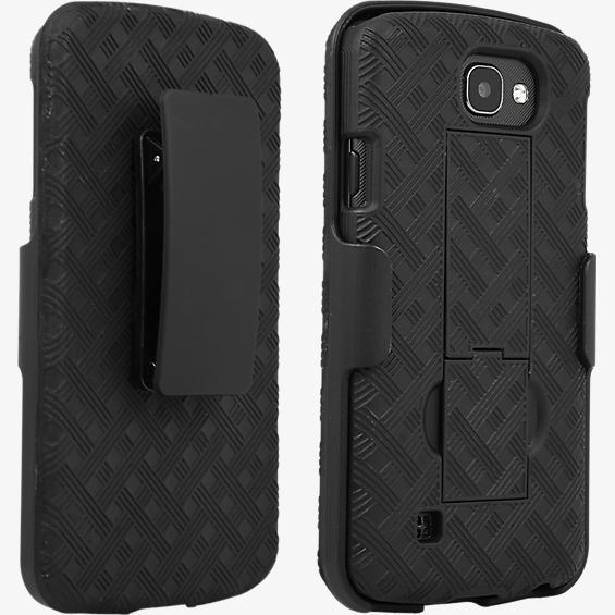Paquete combinado de cubierta/protector para LG K4™