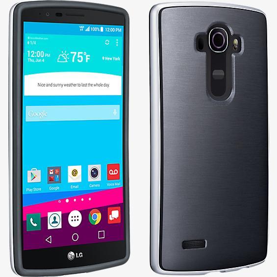 Cubierta suave con protección para el LG G4 - Negro