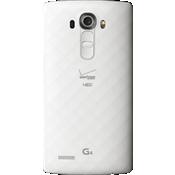 Cubierta de batería estándar para LG G4 - Blanco