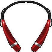 Audífono estéreo inalámbrico LG Tone Pro - Rojo