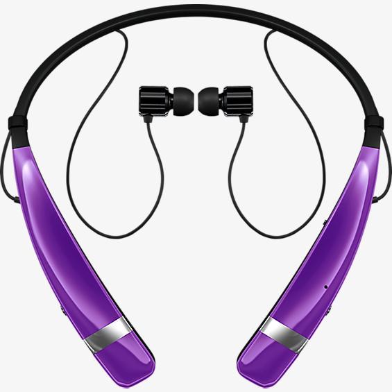 Audífono estéreo inalámbrico Tone Pro - Púrpura