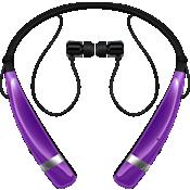 Audífono estéreo inalámbrico LG Tone Pro - Púrpura