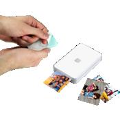 Papel fotográfico Lifeprint 2x3 con adhesivo en el dorso, paquete de 50