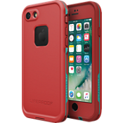 Estuche FRĒ para iPhone 7 - Color Ember Red TWPP