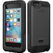 Estuche FRĒ Power para iPhone 6/6s - Negro asfalto