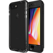 Carcasa NUUD para iPhone 8 Plus - Negro