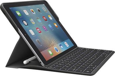 Estuche con teclado retroiluminado Logitech CREATE con tecnología Smart Connector para iPad Pro 9.7 - Negro