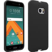 Cubierta de silicona mate para HTC 10 - Negro