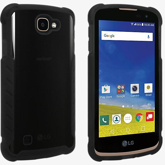 Cubierta de silicona mate para LG G5™ - Negro