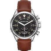Reloj inteligente híbrido Access - Color Gage Silver y piel