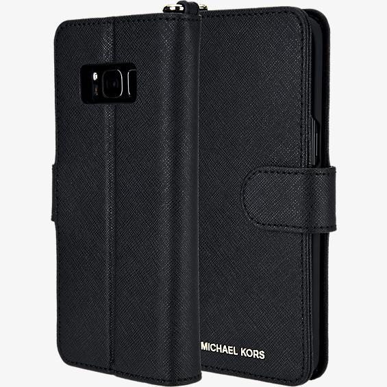 Carcasa de teléfono Saffiano Folio para Galaxy S8