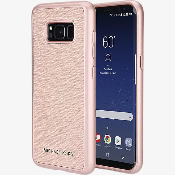 Cubierta de teléfono Saffiano sin bolsillo para Galaxy S8