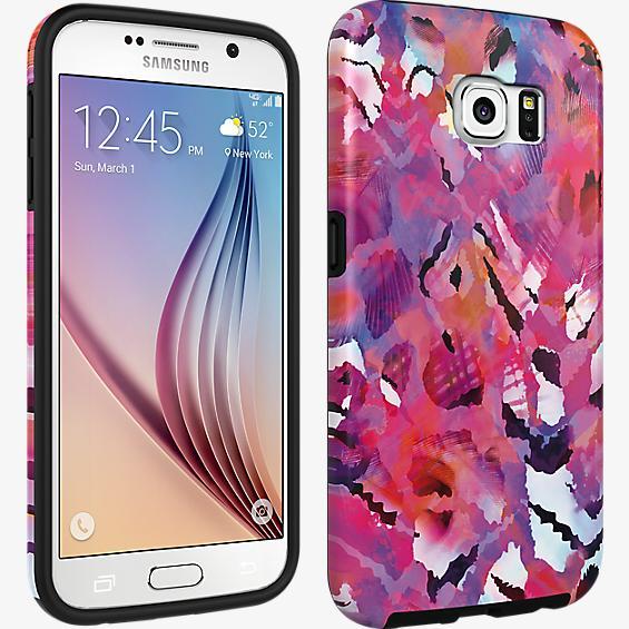 Cubierta para el Samsung Galaxy S 6 - Diseño floral abstracto