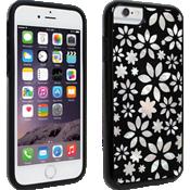 Cubierta Milk and Honey para iPhone 6/6s, diseño de flores en blanco y negro