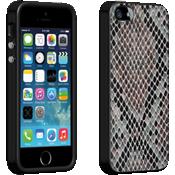 Estuche con diseño de piel de víbora para iPhone 5/5s/SE