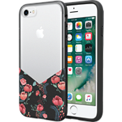 Carcasa Suit Up Print para iPhone 8 - Floral negro